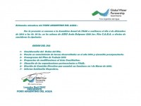 Convocatoria a la Asamblea Anual de FAdA